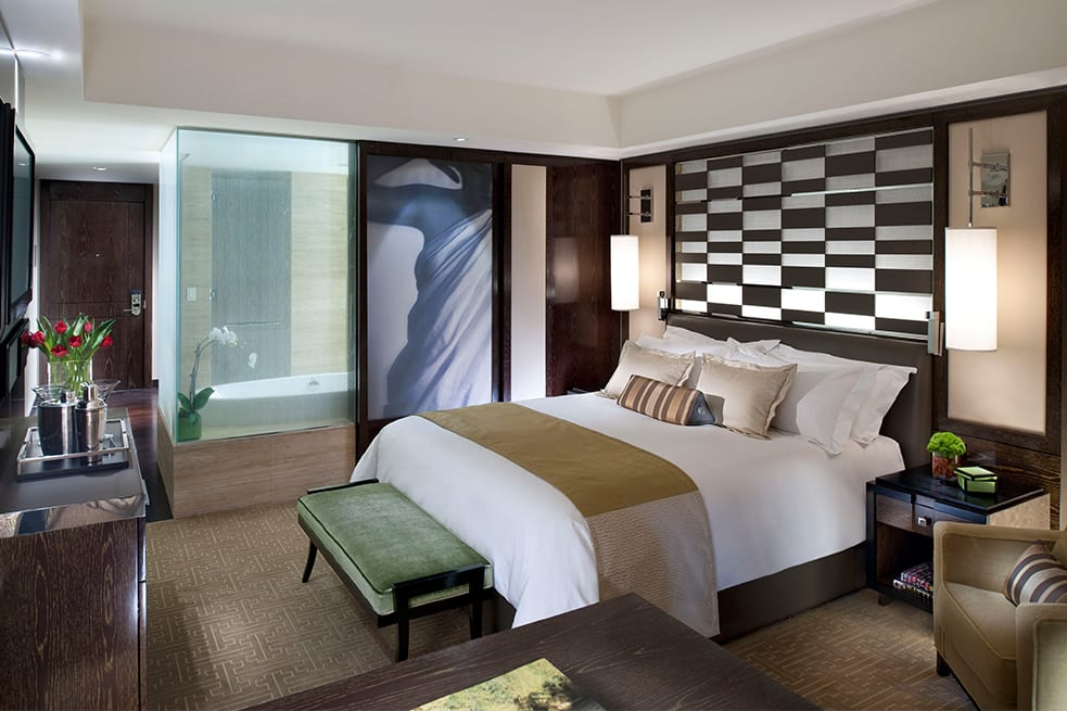 City View Room king-size bed