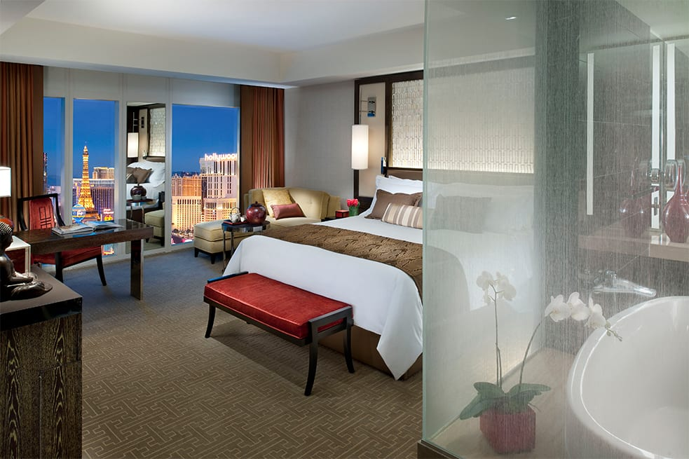 Strip View Room king-size bed